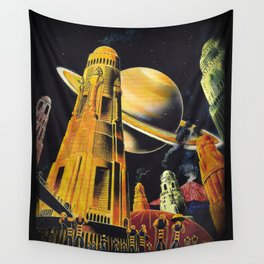 New Earth  Wall Tapestry