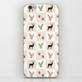 Rustic Animal Pattern iPhone Skin