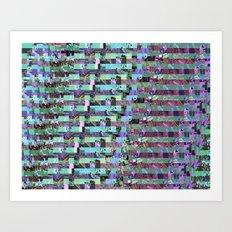 Pattern Test II-A Art Print