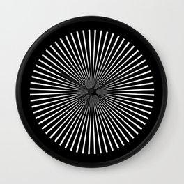 Op Art Flash (Minimalist Design) Wall Clock