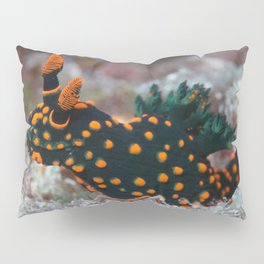 Orange-spotted Nembrotha Monster Nudibranch Pillow Sham
