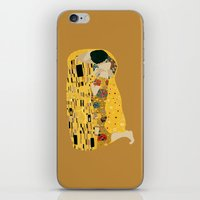 gustav klimt iPhone & iPod Skins featuring klimt by Live It Up