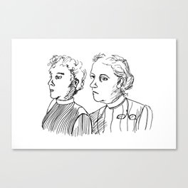 Frauen Canvas Print