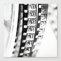 film Canvas Prints featuring film by Ingrid Beddoes