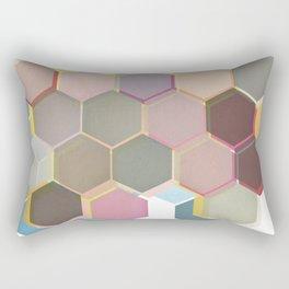 Layered Honeycomb Rectangular Pillow