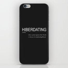 hiberdating iPhone Skin