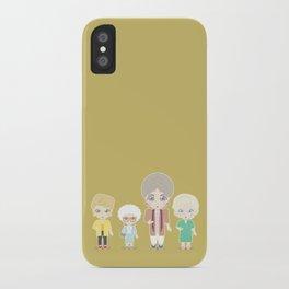 Girls in their Golden Years iPhone Case