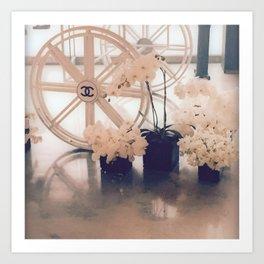 Coco No. 5 Floral Exhibit Art Print