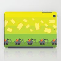 cheese iPad Cases featuring cheese lover by mangulica