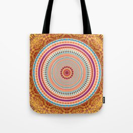Friendship Mandala - מנדלה רעות Tote Bag