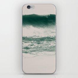 white noise iPhone Skin