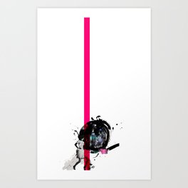 with love from Moscow  Art Print