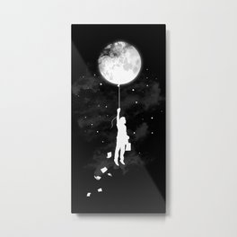 Midnight Traveler Metal Print