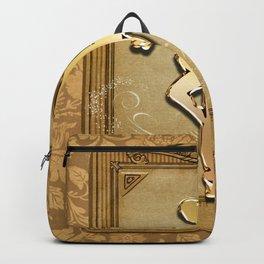 Golden ballerina Backpack