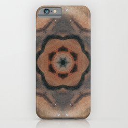 Bushfire Gum Medallion 8 iPhone Case