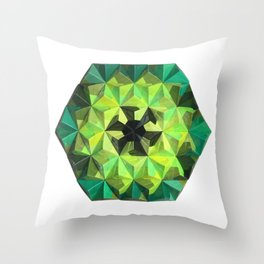 Forest Hues Throw Pillow