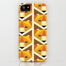 Lookin' Foxy Pattern iPhone Case