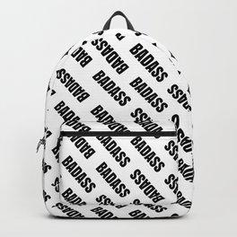 Badass Reverse | Pattern Art Backpack