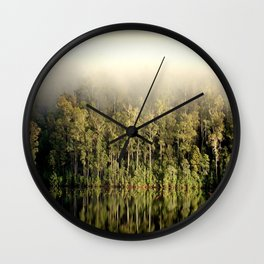 Fog & Relection Wall Clock