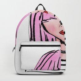 Pink bangs Backpack