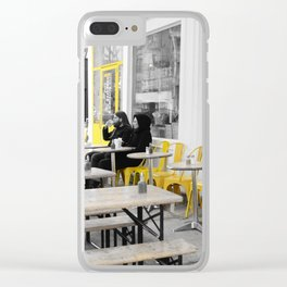 Yellow NYC Clear iPhone Case