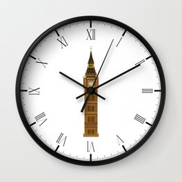 Big Ben Isolated Wall Clock