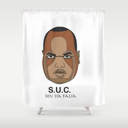 Big Moe Shower Curtain