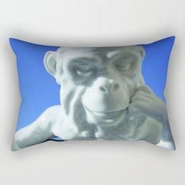 Alfredo Monkey Rectangular Pillow