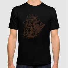 Prince of the Jungle MEDIUM Black Mens Fitted Tee