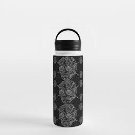 Skull Web Water Bottle