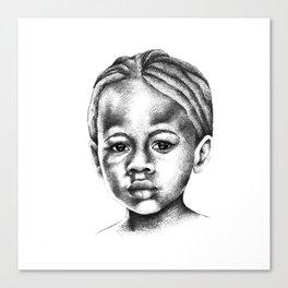 Ebony Canvas Print