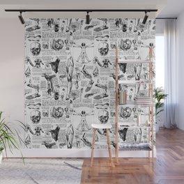 Da Vinci's Anatomy Sketchbook Wall Mural