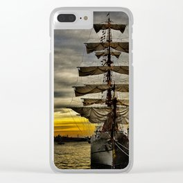 Tall Ship BAE Guayas Clear iPhone Case