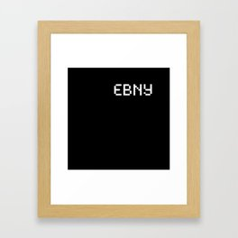 Ebony (BLCK #3) Framed Art Print