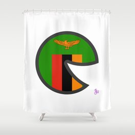 Zambia Shower Curtains