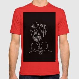The Front Bottoms Lyric Art T-shirt