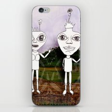 king and queen iPhone & iPod Skin