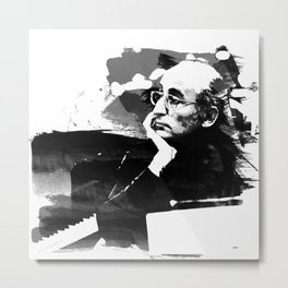 Friedrich Gulda - Pianist Metal Print