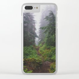 Snoqualmie Pass - Pacific Crest Trail, Washington Clear iPhone Case