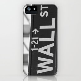Here at the Wall iPhone Case