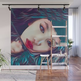 Glass Houses Wall Mural