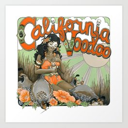 California Voodoo Art Print