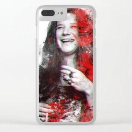 Joplin, Janis Clear iPhone Case