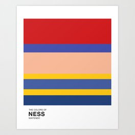 The Colors of Ness Art Print