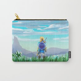 zelda and flying tardis Carry-All Pouch