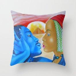 Indigold Throw Pillow