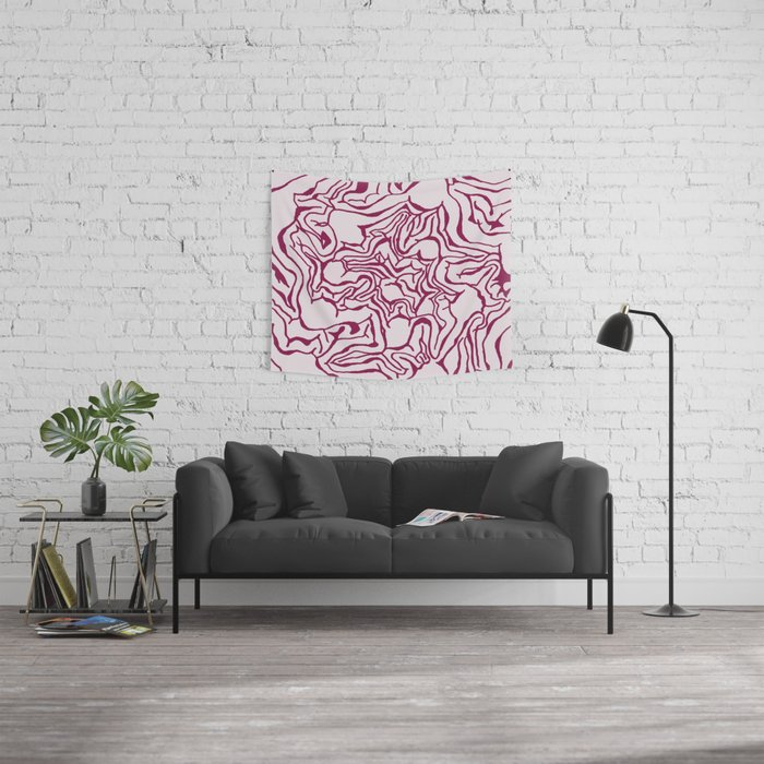 Cabbage Core Wall Tapestry