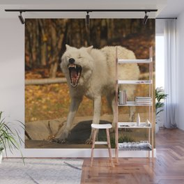 I'll huff and I'll puff and I'll blow your house down Wall Mural