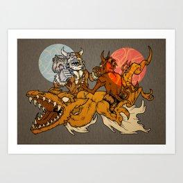 Pterror Art Print