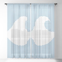 Wavy Wave Sheer Curtain